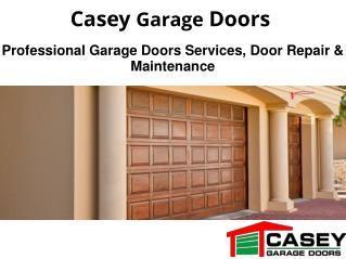 Professional Garage Doors Services, Repair & Maintenance
