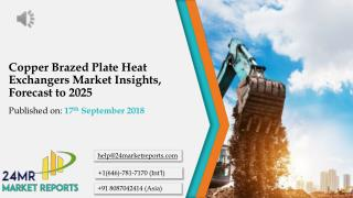 Copper Brazed Plate Heat Exchangers Market Insights, Forecast to 2025