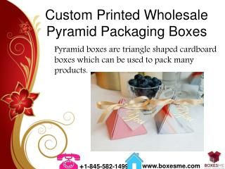 Custom Printed Wholesale Pyramid Packaging Boxes