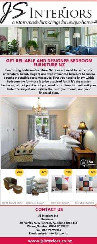 Get Reliable And Designer Bedroom Furniture NZ