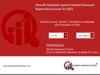 Aircraft Autopilot System Market Research Report – Forecast to 2023