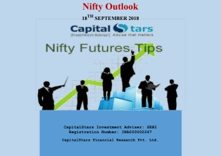 18 Sep 2018 Nifty future tips