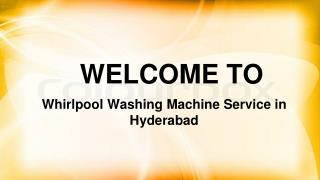 whirlpool washing machine sevice center in hyderabad