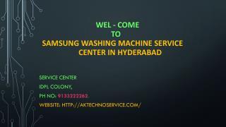 Samsung washing machine service centre in hyderabad