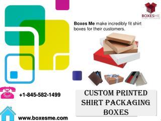 Custom Printed Shirt Packaging Boxes