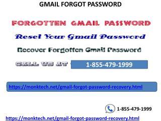 forgot password on gmail