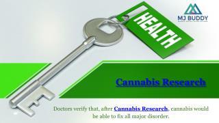 Advance Cannabis Research | MJ Buddy