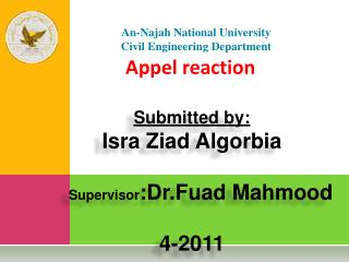 Appel reaction