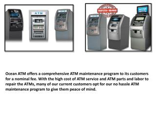 ATM machines for sale Free ATM placement