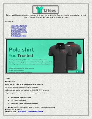 t shirt screen printing