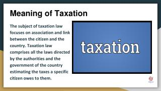 Taxation Assignment Help in USA, UK and Australia