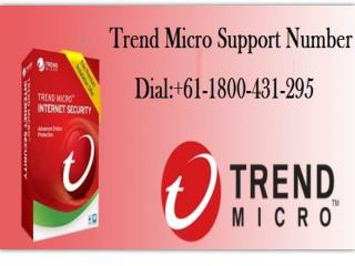 Trend Micro Support Number