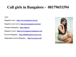 Top High class Bangalore models