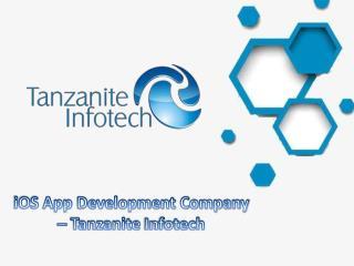 Best iPhone Application Development Company   Tanzanite