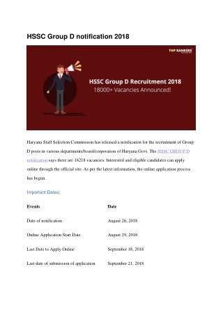 Hssc groupd Mock test