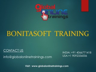 Bonitasoft Training | BPM Training - Global Online Training