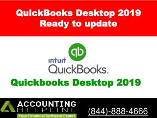 QuickBooks Desktop 2019 - Ready to update