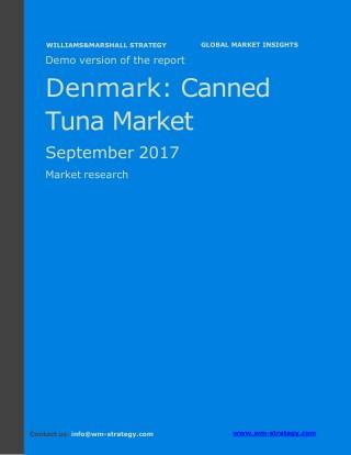 WMStrategy Demo Denmark Canned Tuna Market September 2017