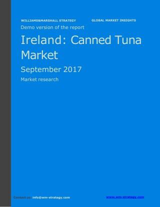 WMStrategy Demo Ireland Canned Tuna Market September 2017