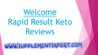 Rapid Results Keto Reviews | Rapid Results Keto Diet