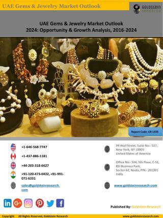 UAE Gems And Jewelry Market Report 2016-2024