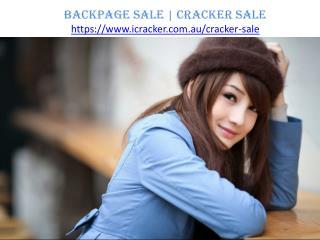 Backpage Sale   Cracker Sale