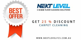 Get 25 % Discount on Carpet Cleaning