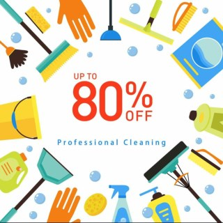 UP TO 80% OFF On Hiring A Professional Cleaner