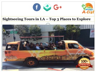 Sightseeing Tours in LA - Top 3 Places to Explore