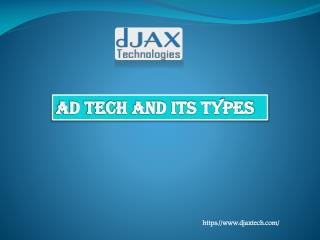 What is ad tech and its types?