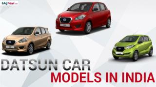 Datsun Car Models in India - Prices, Models, Images, Reviews   SAGMart