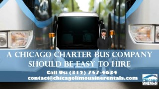 A Party Bus Rental Chicago Should Be Easy to Hire