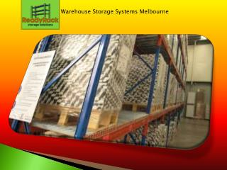 Warehouse Storage Systems Melbourne