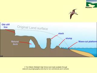 Original Land surface