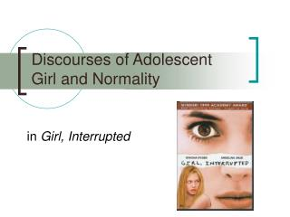 Discourses of Adolescent Girl and Normality