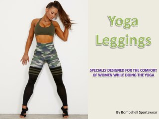 Branded Yoga Leggings Available Only at Bombshell Online Store- Shop now