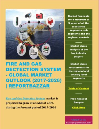 FIRE AND GAS DECTECTION SYSTEM - GLOBAL MARKET OUTLOOK (2017-2026)