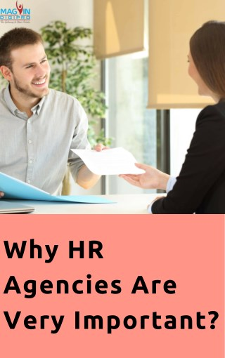 Why HR agencies are very important | HR Consultancy Bangalore