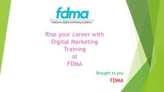 FDMA- Digital Marketing Training in Gurgaon