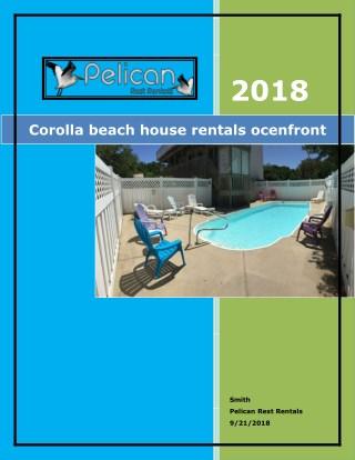 Corolla beach house rentals ocenfront