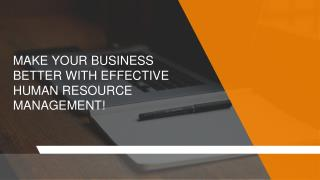 How human resource management can be beneficial for your business?