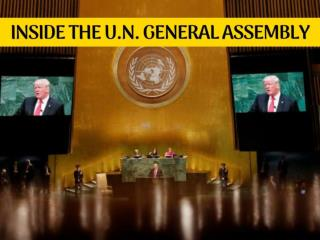 Inside the U.N. General Assembly 2018