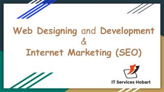 Web Designing and Development Company in Hobart