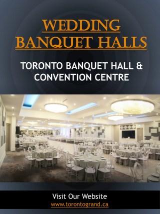 Wedding banquet halls