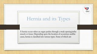 Hernia and its Types