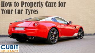 How to Properly Care for Your Car Tyres