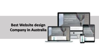 Best Website design Company in Australia