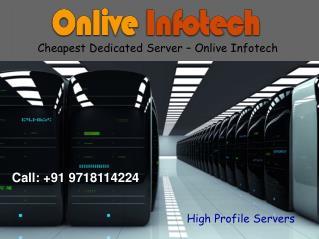 Cheapest Dedicated Server Hosting to Make Website Credential