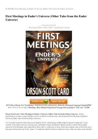 FIRST-MEETINGS-IN-ENDER-S-UNIVERSE-OTHER-TALES-FROM-THE-ENDER-UNIVERSE