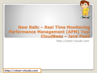 14.CloudBees - New Relic